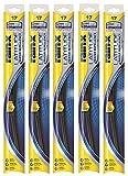 "Rain-X 5079275-2-5PK Latitude 2-IN-1 Water Repellency Wiper Blade, 18"" (Pack of 5)"