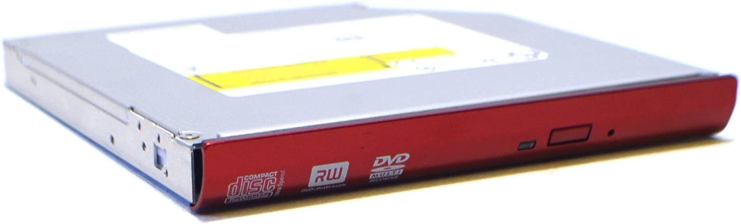 GDMN9 New Genuine OEM DELL Asus G53SW-XN1 Vostro 3700 Laptop Notebook RED Front Bezel Optical Hitachi-LG Model GT30N SATA Multi Read/Write CD-RW/DVD±RW ROM Drive H8M5R HV0XK 155NH 6M.4ESDR.003