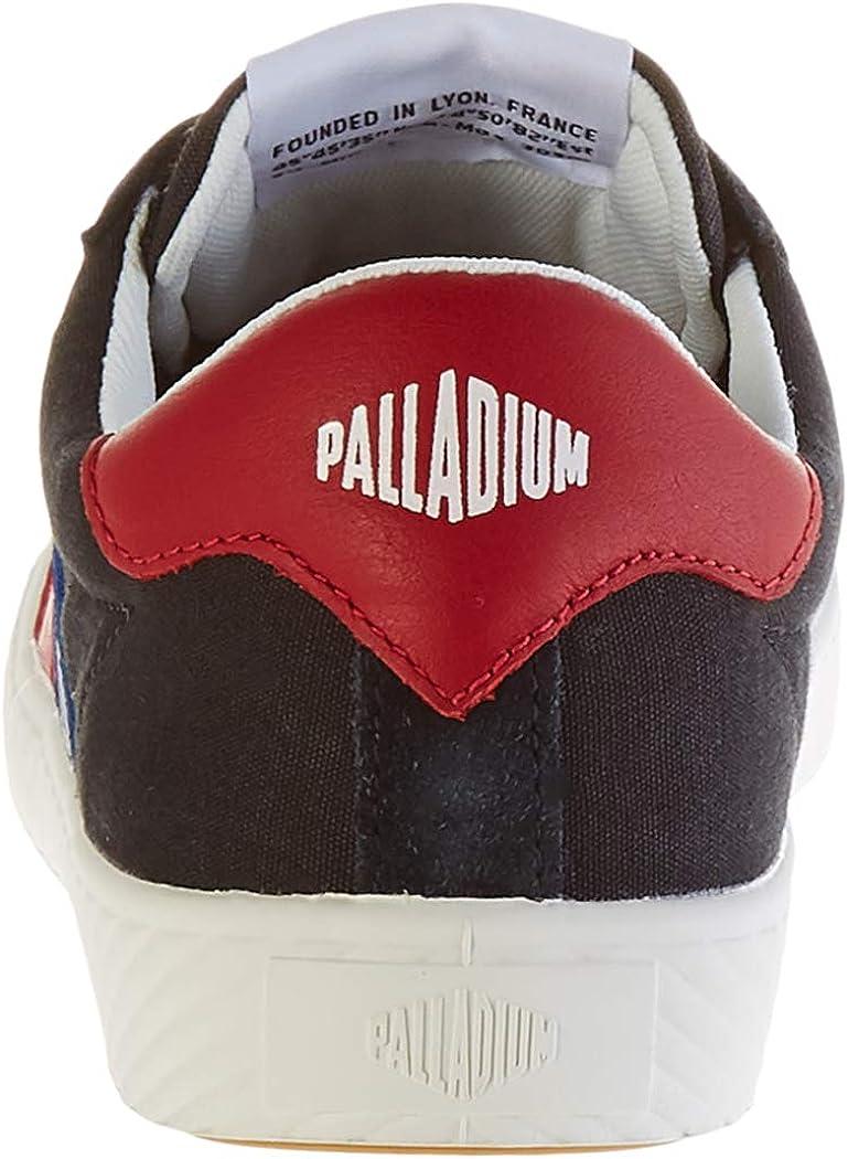 Palladium Plphoenix F C U, Baskets Mixte Noir Black French Flag K64