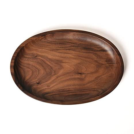 Amazon Solid Wooden Serving Tray Decorative Trays Serving Impressive Decorative Wood Serving Trays