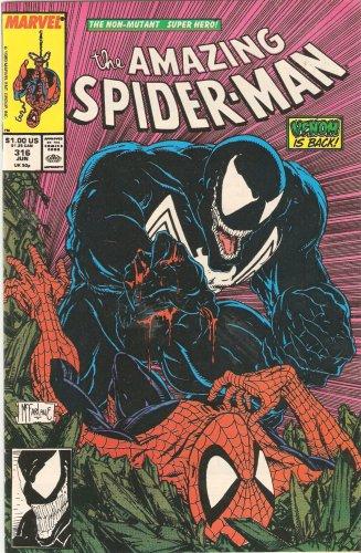 The Amazing Spider-man #316 Vol. 1 June 1989