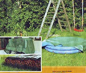 Home & Garden universal Lona – Carcasa/Material impermeable tamaño 3 x 4 m