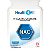 Health4All NAC N-Acetyl Cysteine 600mg 60 Capsules   Immune & liver support   Free UK Delivery