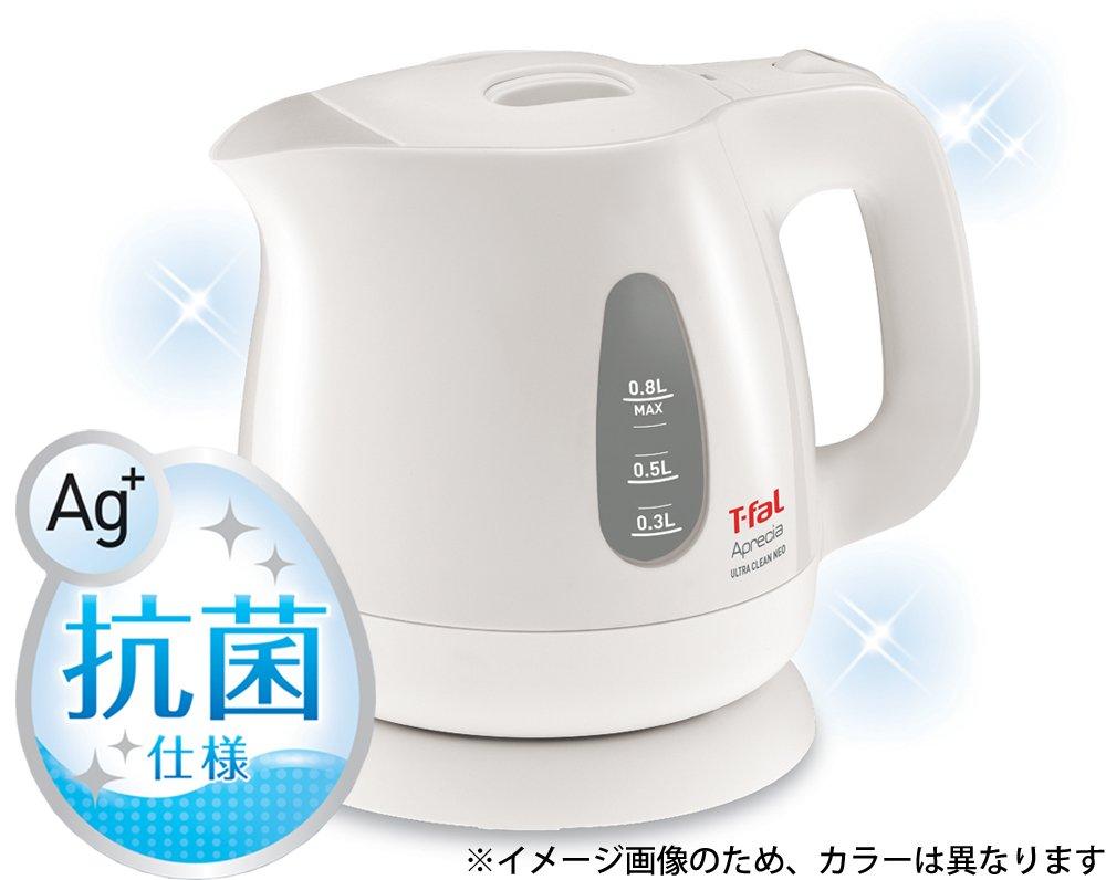 T-FAL electric kettle 0.8L Apureshia Ultra Clean Neo Ruby Red KO3905JP