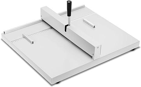 VEVOR Manuelle Nutmaschine Rillmaschine f/ür DIN A4 Rillmaschine mit R/ücklaufsperre Schwermetall Crimpmaschine Falzmaschine Falzmaschine Papier 35 cm Papier Faltende Maschine mit Zwei Bl/öcken