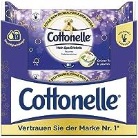 Cottonelle Mein Spa beleving Vochtig toiletpapier, groene thee en jasmijn, biologisch afbreekbaar, hersluitbaar…