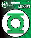 Ata-Boy DC Comics Die-Cut Green Lantern Logo Magnet for Cars, Refrigerators and Lockers