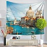 Summer beach wall hanging, tapestry, beach towel carpet, home decoration wall cloth-B 150x200cm(59x79inch)
