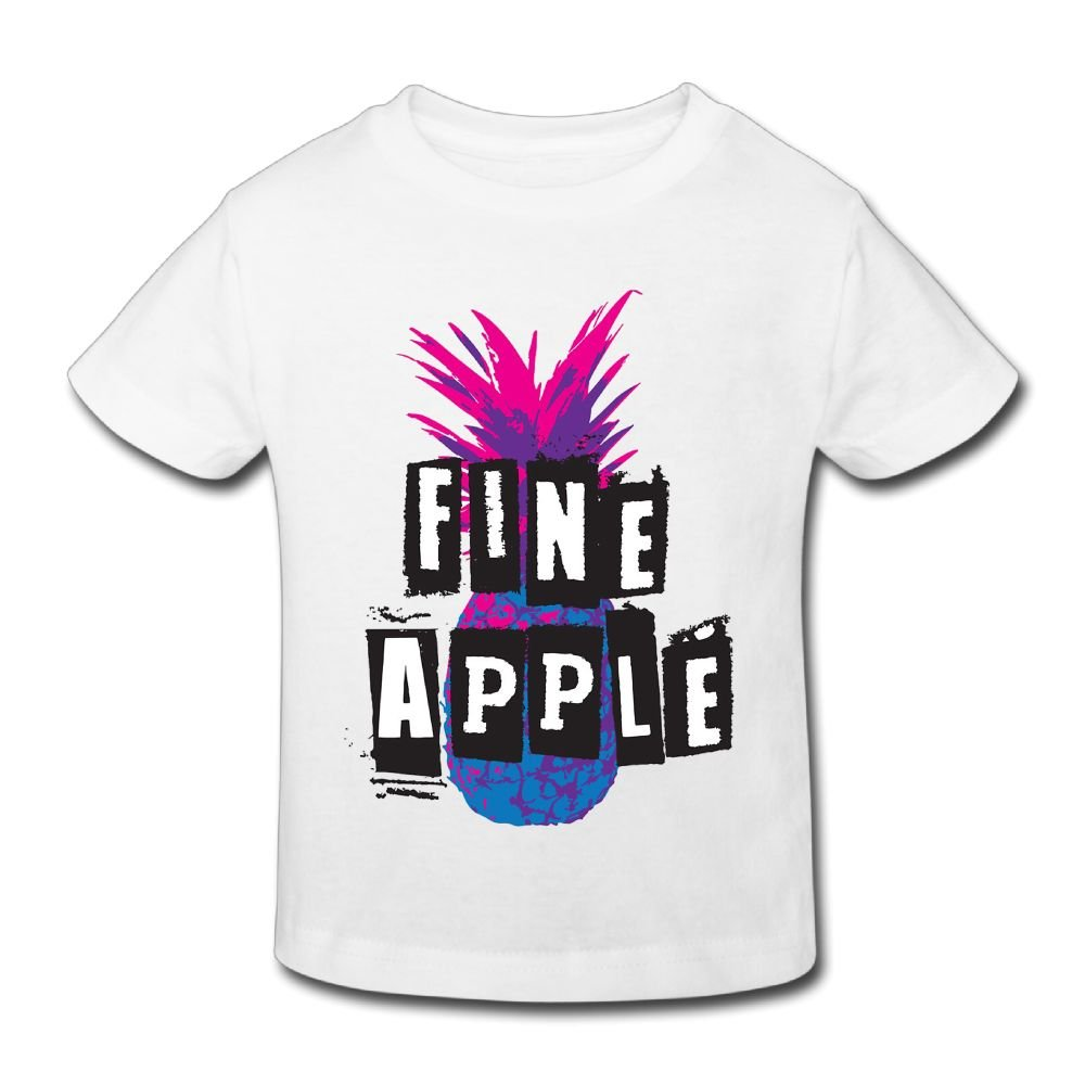 KissKid Fine-Apple Baby Short Sleeve Tshirt