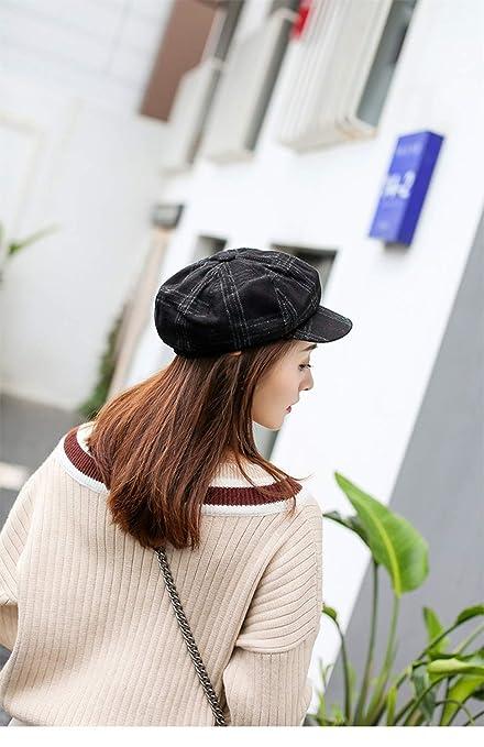ZOODQ Sombrero de señora Beret Estilo francés Boinas de Lana para Mujer  Retro Gorros Clásicos Gorra Sombreros Baker Boy Gorras Planas Sombrero de  Vendedor ... fb5433cf5a7