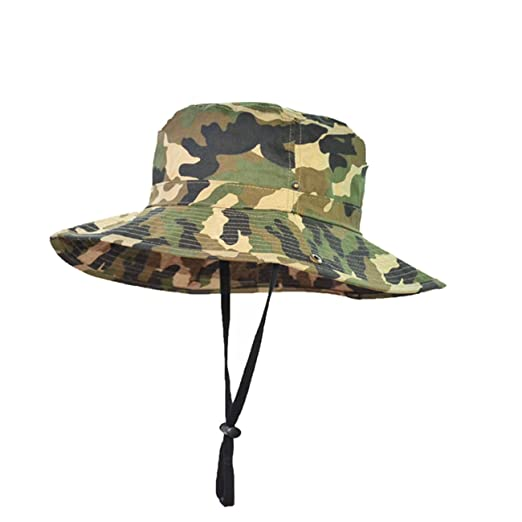 ANQIA Children s Camouflage Boonie Hat Camo Fishing Boonie Hat Baby Bucket  Hat Hunting Hats (XS bf5c7e14500b