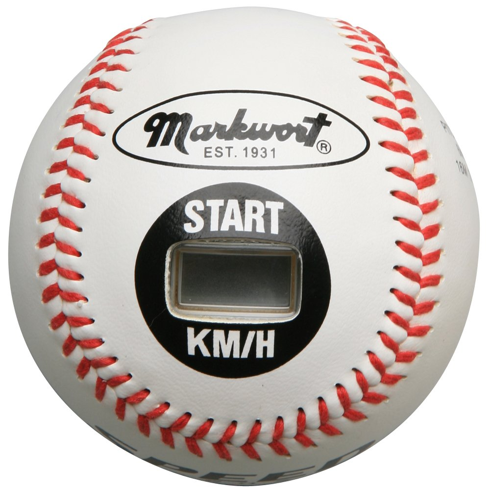 Markwort Speed Sensor Kilometer White Cover 9-Inch Baseball SPEED-KM