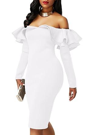Vestidos De Fiesta Ropa De Moda 2018 Largos Cortos Sexys Para Mujer y Noche Elegantes Casuales VE0067 at Amazon Womens Clothing store: