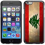 Graphic4You Vintage Lebanese Flag of Lebanon Design Hard Case Cover for Apple iPhone 6 Plus