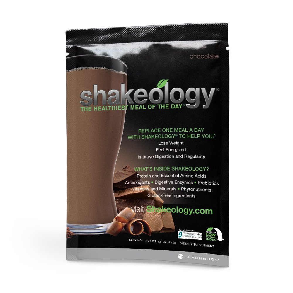 Amazon.com: Shakeology Chocolate 24 Individual Packets in a BOX ...