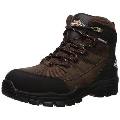 """Dickies Men's Copperas 6"""" Steel Toe Eh Waterproof Industrial Boot   Industrial & Construction Boots"""