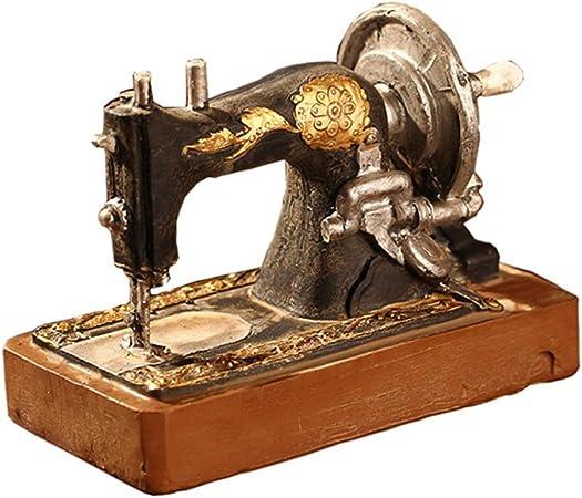 Mikolot - Máquinas de Coser Antiguas Adornos miniaturas Sala de Estudio Decoración de Ventana: Amazon.es: Hogar