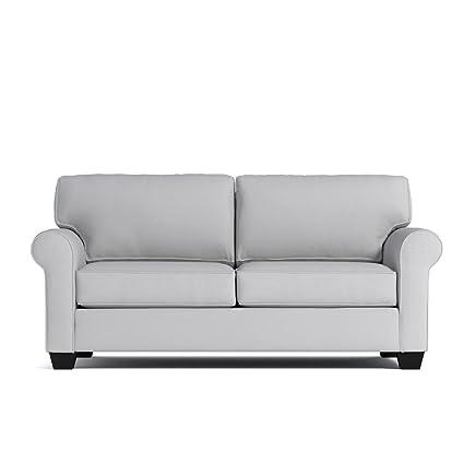 Amazon.com: Lafayette Apartment Size Sofa, Stone, 62\