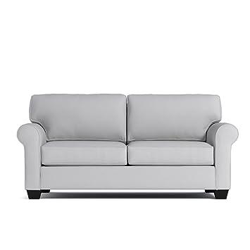 Super Amazon Com Lafayette Apartment Size Sofa Stone 76 X 38 Short Links Chair Design For Home Short Linksinfo