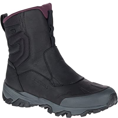 "Merrell Coldpack Ice+ 8"" Zip Polar Waterproof Women 8 Black 