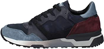 e52c56809539d8 CRIME LONDON Escape Mens Trainer Navy Suede UK9 EU43 US10