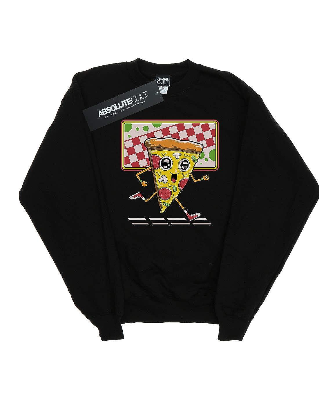Vincent Trinidad Girls Pizza Run Sweatshirt