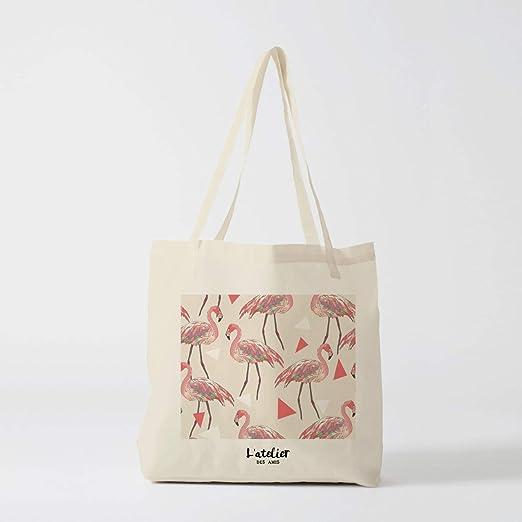 DKISEE A Nanny - Bolsa de mano de lino y algodón reutilizable ...