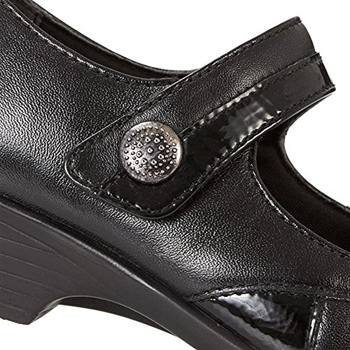 300 Jane Mary Black 693 Strap with Touch Leather Pavers One O7Evqw0x