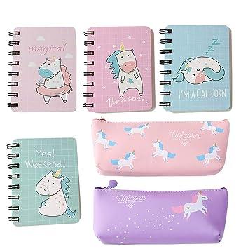 Pack de 12 bolígrafos de gel para lápices de unicornios ...