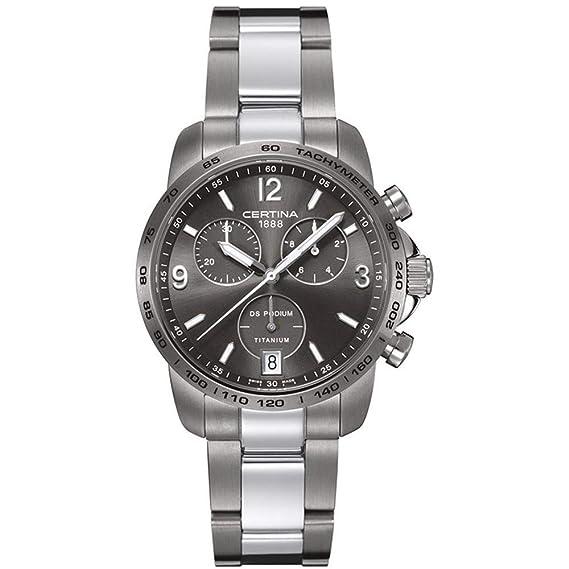 Certina DS Podium Reloj de Hombre Cuarzo 40mm C001.417.44.087.00: Amazon.es: Relojes
