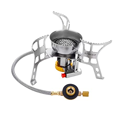 Zubehör Folding Mini Camping Survival Cooking Furnace Stove Gas Burner Outdoor UX