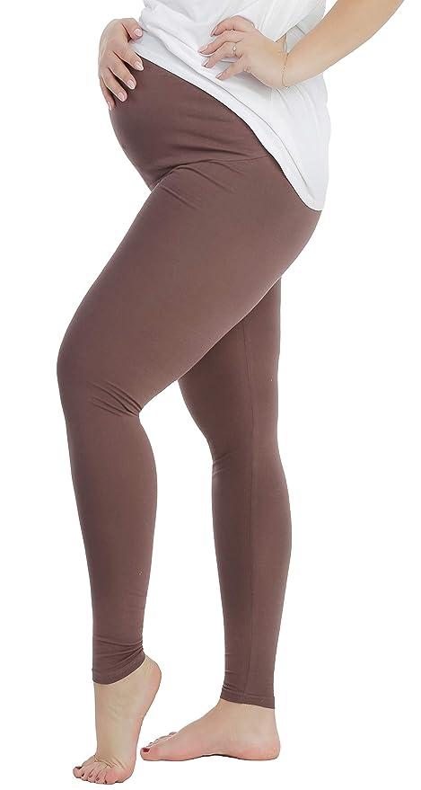 BeLady Legging de Maternité Femme en Coton Longs Jambières Pantalon Opaque  Noir Marron Bleu marine Graphite Blanc  Amazon.fr  Vêtements et accessoires f6c694c2ffb