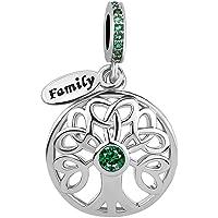Breloque arbre familial de vie Uniqueen - Pour bracelet et collier