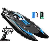 Top Race Remote Control Schnellboot für Umfragen und Seen - 25 km / h Höchstgeschwindigkeit - Einzigartige bürstenlose Motoren für Höchstgeschwindigkeit und Agilität TR-900