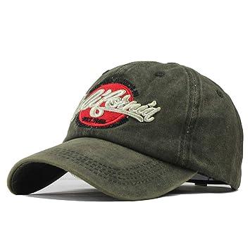 dbff8337b75a82 Saingace(TM) Unisex Baseball Cap California Mütze Baumwolle Stickerei Mütze  Leichte Bordkappe Einstellbar Sonnenschutz