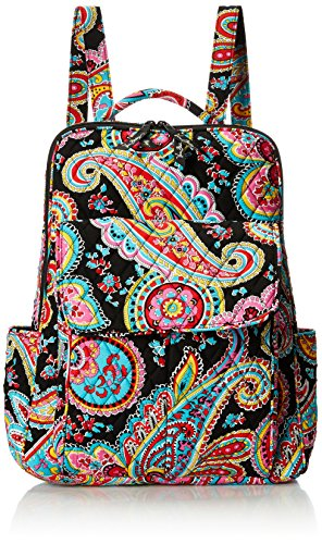 Vera Bradley Women's Ultimate Backpack, Parisian Paisley, One Size