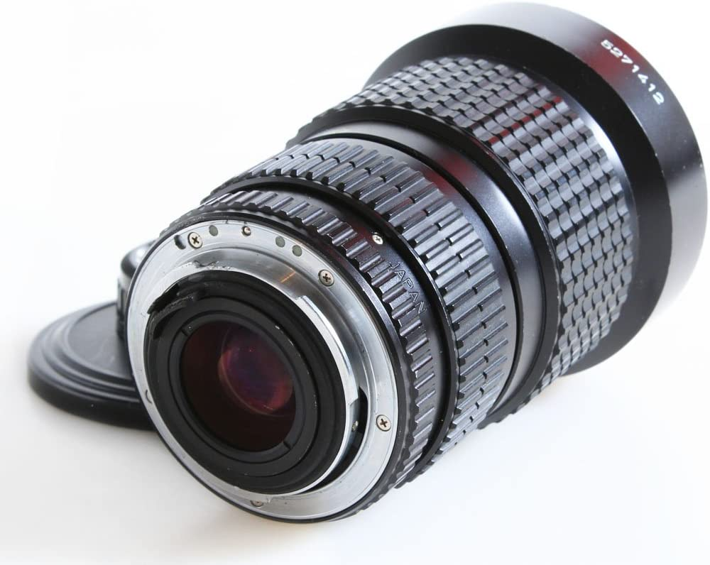 PENTAX-A SMC 28-135MM F//4 K Mount Lens with Front and Rear CAPS