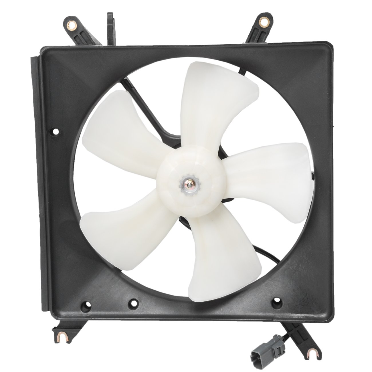 TOPAZ 19005-PP1-003 Radiator Cooling Fan Assembly for Honda Accord 1990-1993 2.2L