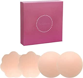 NippleCovers, Pasties, Silicone Nippleless Cover Reusable Breast Petals