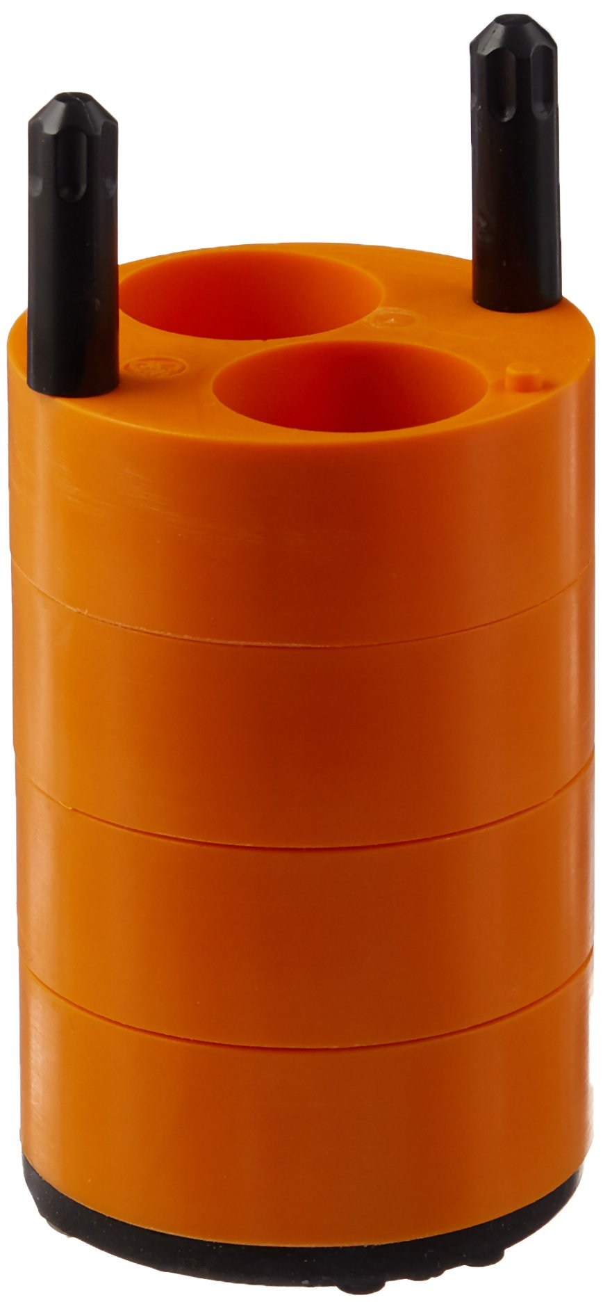 THERMO FISHER SCIENTIFIC 75008184 Centrifuge Adapter for Round Bucket, 2 mL x 25 mL Capacity DIN Standard Tube, Orange