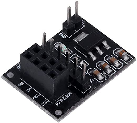 5x socket adapter plate board for 8pin NRF24L01 Wireless transceive modul PO