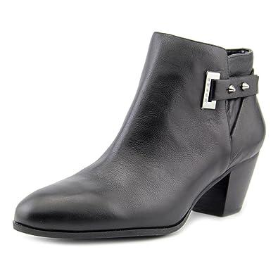 2e42f28b2654cb Guess Raten Sie Verity Round Toe Leder Bootie  Amazon.de  Schuhe ...