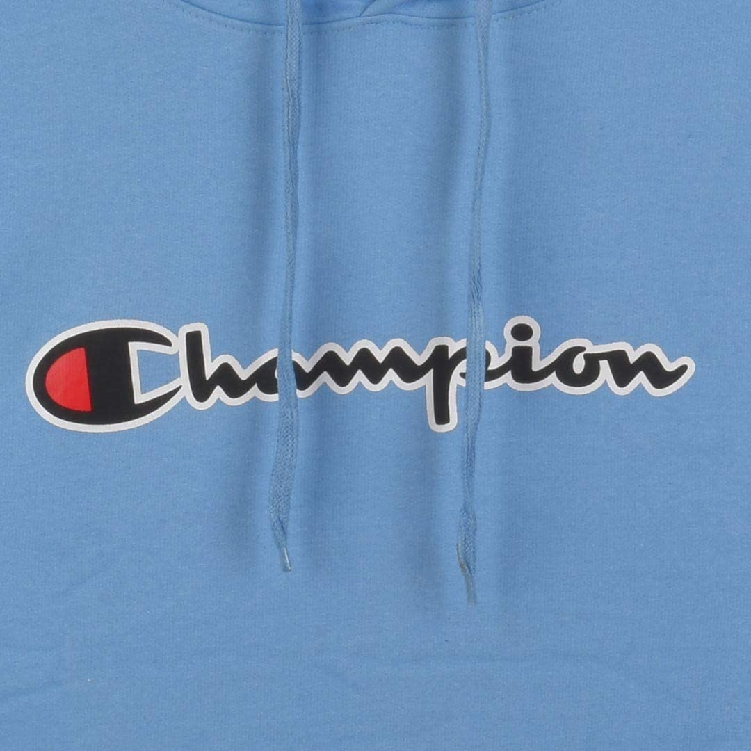 Champion Mens Big-Tall Full Zip Fleece Hoodie
