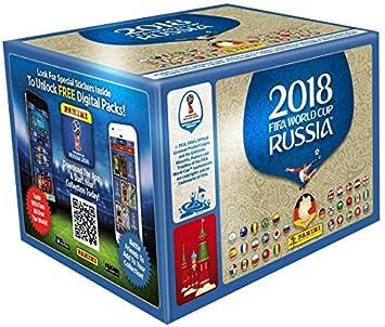 Panini - Mundial Rusia 2018 Caja con 100 Sobres - Versión importada de Alemania [Los números de los