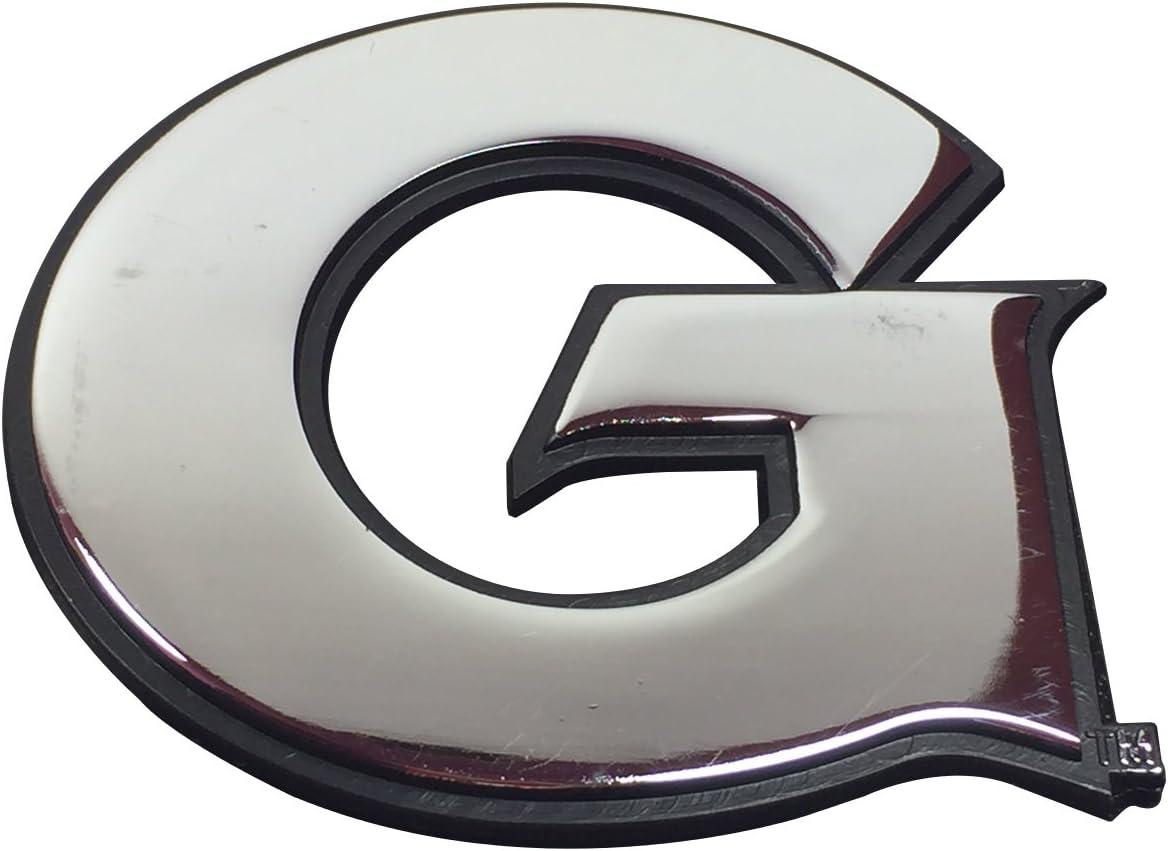 Georgetown University METAL Auto Emblem