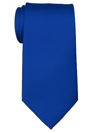 Retreez - Corbata de microfibra, color liso, para hombre (8, 9 cm ...