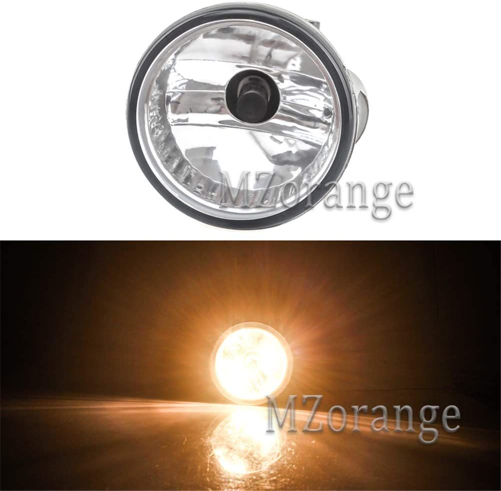 MZORANGE Front Fog Light Lamp For Toyota Prius 2004 2005 2006 2007 2008 2009 For Highlander//MR2 Spyder//Echo//Scion xA with Bulb