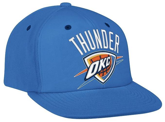 fb28a16d Amazon.com : NBA Men's Oklahoma City Thunder Adjustable Snapback Hat ...