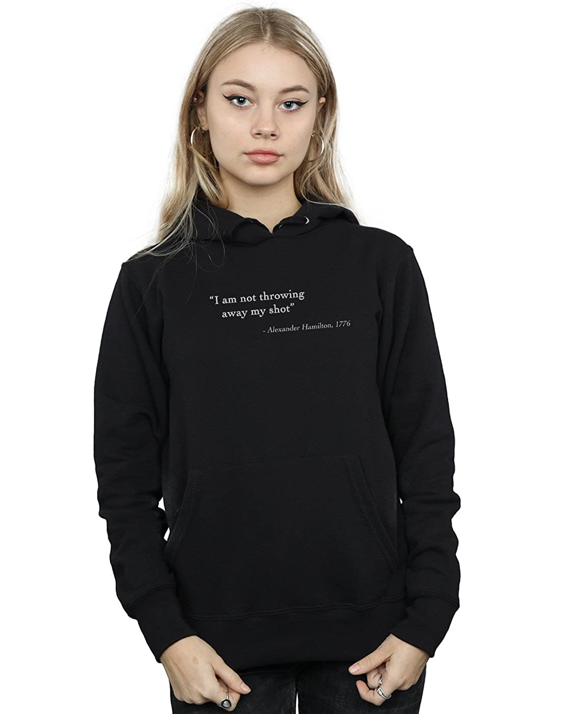 Drewbacca Women's Alexander Hamilton Quote Hoodie Absolute Cult