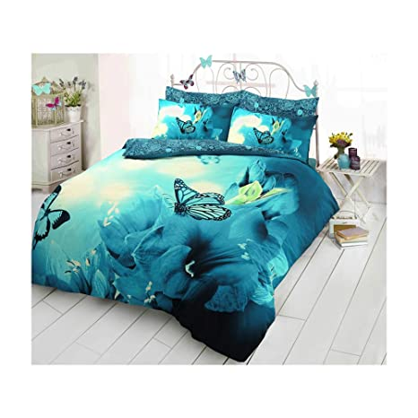 3D Animal Printed Duvet Cover Set Reversible Quilt Bedding Pillowcases All Sizes